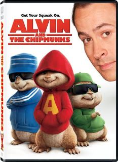 Alvin and the Chipmunks on DVD $5.00