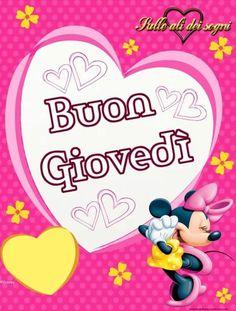 Belle immagini di Buon Giovedì per Facebook Good Thursday, Disney, Video, Facebook, Sleep, Italia, Cards, Disney Art