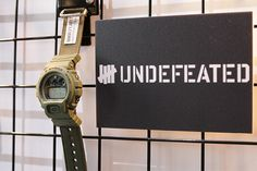 BBB Connect: Casio G-Shock x Undefeated Preview