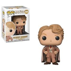 From Harry Potter, Gilderoy Lockhart, as a stylized POP vinyl from Funko! Figure stands 3 inches and comes in a window display box. Check out the other Harry Potter figures from Funko! Harry Potter Pop Figures, Figurine Harry Potter, Saga Harry Potter, Funko Pop Harry Potter, Pop Vinyl Figures, Funko Pop Figures, Puzzles 3d, Funko Pop Dolls, Ron Weasley