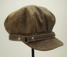OVERSIZED NEWSBOY 8Panel Handmade Cap Driving Cap for by Sookie, $88.00