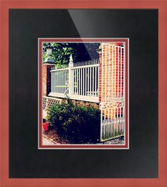 Colonial Williamsburg Virginia Gate Fence Bench Print W42 Historic Landscape 8 x 10 Photograph Photo Picture by Concepts2Canvas on Etsy