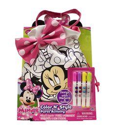 Disney Minnie Color N Style Purse