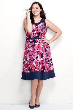 roz & ALI™ Plus Size Lace Fit-and-Flare Dress from Dressbarn ...