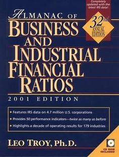 almanac of business and industrial financial ratios pdf