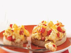 Roasted Pepper, Bacon & Egg Muffins Recipe