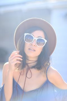 Feast Fashion Faves: Women's Oversize Round Marble Cat Eye Sunglasses A241