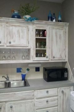 Love these white washed cabinets   Interior Inspiration in ...
