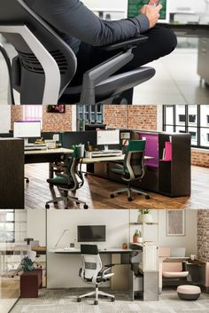 Gesture is the first chair designed by Steelcase to support our interactions with today's technologies. Office Chairs, Office Furniture, Desk Chair, Chair Design, Innovation, Contemporary, Table, Home Decor, Decoration Home