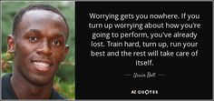 TOP 25 QUOTES BY USAIN BOLT (of 85) | A-Z Quotes