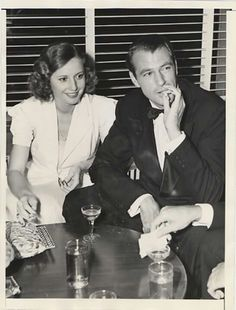 Barbara Stanwyck & Gary Cooper 1938