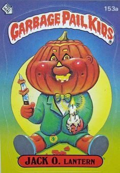 The Garbage Pail Kids were a series of trading cards that came out in the Just like todays trading cards, they are traded, sold, and collected. 1980s Toys, Retro Toys, Vintage Toys, Monster Party, Childhood Toys, Childhood Memories, Garbage Pail Kids Cards, Kids Series, Series 4