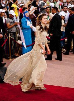 Queen Rania - King Abdullah II Of Jordan 10 Year Anniversary Celebration
