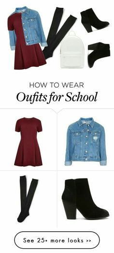 How to wear outfits for school. Fashion.