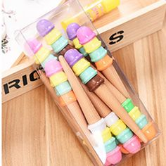 Just in to our stationery collection! Kawaiiiii :3  0.5 MM  Candy Color Pen (Black pen) - 12pcs as a set