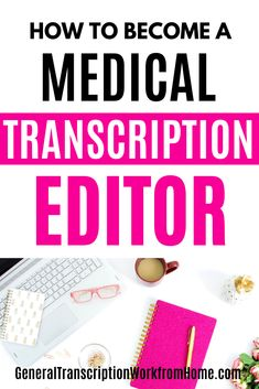Medical transcriptionists are now often working as medical transcription editors or MT editors. Find out how to Become a Medical Transcription Editor.  #medicaltranscription #medicaltranscriptioneditor #editor #transcription #MTE #MT #medicaltranscriptionjobs  #transcriptiontraining #onlinejobs #medicalcareers #workfromhome Typing Jobs From Home, Online Typing Jobs, Best Online Jobs, Work From Home Jobs, Transcription Training, Transcription Jobs For Beginners, Transcription Jobs From Home, Make Money Online, How To Make Money