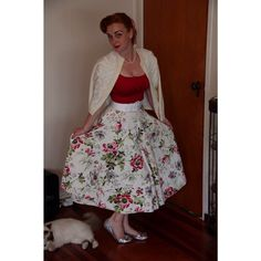 On the first day of Christmas my true love have to me a hand beaded vintage cardi ! @bella_vintage_shop skirt ! #bellavintage #vintageskirt #vintagesweater #pinupgirlclothing #pinupchristmas #12daysofchristmasfashion #christmas #christmasstyle #christmasfashion #pinupchristmas #pinupfashion #pinupchristmas #pinupblogger #pinupgram #pinup #pug #missrougenz #modernpinup #ootd #glamour #50s #hongkongsweater #beadedsweater #vintagestylenz #newzealandstyle #nzvintage #nzpinup