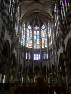 Abside et choeur de Saint-Denis