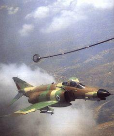 ISRAELI F-4 PHANTOM 1973 YOM KIPPUR WAR   McDonnell Douglas F-4 Phantom II (Kurnass)