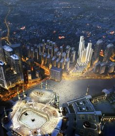 Foster + Partners revealscascading tower complexfor Mecca pilgrims