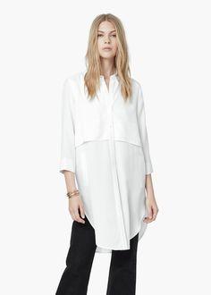 en soldes 5bd43 e5eb7 chemise femme mango 2015
