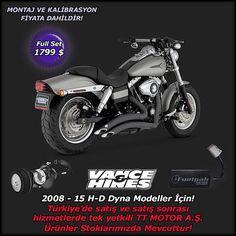 """VANCE & HANCE  Full Pack==>1799 $ 2008-2015 H-D DYNA Modeller İçin  Türkiye'nin Tek Yetkili Distribitörü TT MOTOR'DAN!  Online Shop: ttcustomshop.net (0216) 541 91 90 - (0242) 349 28 30  We as TT MOTOR are Turkey's one and only authorized distributor for Full Pack==>1799 $ 2008-2015 H-D DYNA Model!  #exhaust #vancehines #engine #motorbike #motorcycles #bike #bikestagram #bikelife #ride #race #rideout #road #rock #run #drive #design #safe #speed #style #lifestyle #limitededition #live"