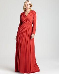 ShopStyle: Rachel Pally White Label Plus Long Sleeve Rocio Maxi Dress