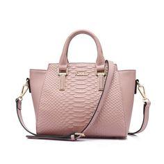 06f980899e Genuine Leather Crocodile Print Hand And Shoulder Bag