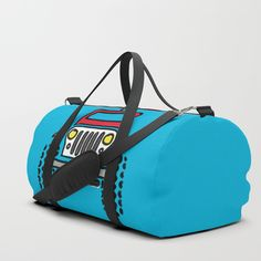 We upped the Duffle Bag game. Your new favorite gym and travel bags feature crisp printed designs on durable poly poplin canvas. Constructed with premium details for ultimate comfort. Available in three sizes.     - Durable poly poplin, canvas-like exterior   - Soft polyester lining with interior zip pocket   - Adjustable shoulder strap with foam pad and carrying handles   - Double zipper pull tabs for easy open/close   - Brushed nickel metal hardware Jeep Drawing, Bags Game, Brushed Nickel, Poplin, Travel Bags, Crisp, Gym Bag, Print Design, Shoulder Strap