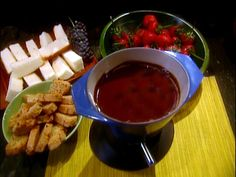 Chocolate Fondue from FoodNetwork.com