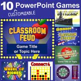 PowerPoint Games Pack - 10 Customizable Templates