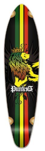 "New Longboard KICKTAIL 70's shape skateboard Blank and Graphic Decks, Graphic-Rasta by The Epic Sports. $52.99. Perfect Decks. With Shrink Wrap. Size: 40"" X 9.75"""