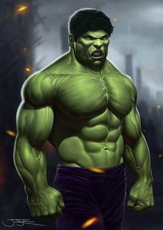 #Hulk #Fan #Art. (Hulk) By: Josh Ryba. ÅWESOMENESS!!!™ ÅÅÅ+