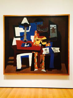The three musicians Picasso MoMa