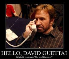 Hello, David Guetta?