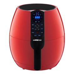 Electric Air Fryer 8 Cook Presets Digital LCD Qts Programmable Cooker for sale online Red Air Fryer, Best Rated Air Fryer, Gowise Air Fryer Reviews, Electric Air Fryer, Apple Hand Pies, Best Air Fryers, Thing 1, Air Frying, Small Appliances