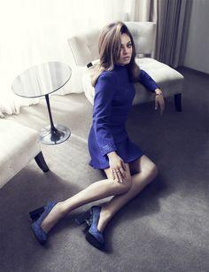 Mila Kunis is 60s Glam in Elle UKs August Cover Shoot by Doug Inglish