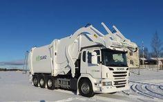 Front Loader NTM FL-P Scania, Śmieciarka z przednim załadunkiem NTM FL P na podwoziu Scania Frontpress