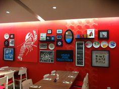 Wall decor idea for kitchen
