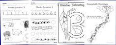 Printable Number Activity Booklets  - SparkleBox