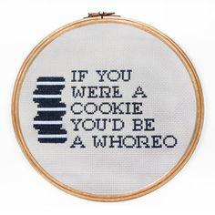 Cross Stitch Quotes, Cross Stitch Love, Modern Cross Stitch, Cross Stitch Designs, Cross Stitch Patterns, Naughty Cross Stitch, Diy Embroidery, Cross Stitch Embroidery, Embroidery Patterns