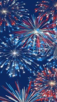 Red, White & Blue Fireworks