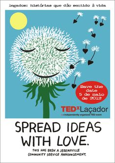 Save the Date - TEDxLaçador May 5th - by Jeremy Ville