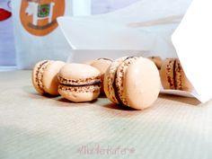 Macarons mit Schoko-Orangencreme