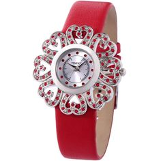 Vintage Pure Red Watch for Women