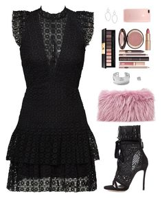 """Sin título #4330"" by mdmsb on Polyvore featuring moda, Dsquared2, Mr & Mrs Italy, Yves Saint Laurent, Charlotte Tilbury y Ippolita"