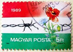 https://flic.kr/p/yuM1zH | in memory 1989 - great stamp Hungary 5ft (1989 - Fall of the Iron Curtain, Öffnung des Eisernen Vorhages; Fine della cortina di ferro; A vasfüggöny lebontása) frimærker Ungarn Briefmarken postimerkkejä Unkari طوابع ختم هنغاريا postes timbres Hongrie | *** *** *** I'm stampolina and I love to take photos of stamps. Thanks for visiting this pages on flickr.  I'm neither a typical collector of stamps, nor a stamp dealer. I'm only a stamp photograph. I'm fascinated of…