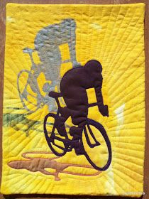 Quilt Inspiration: Art and Sport: the Art Quilts of Linda Robertus