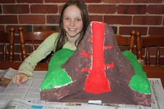 in all honesty: how we made a cross-section volcano Volcano Science Fair Project, Volcano Projects, Science Fair Projects Boards, Science Experiments Kids, School Projects, Projects To Try, Atom Project, Volcano Model, Cross Section