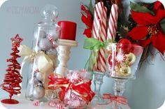 Candy and Ornament jars